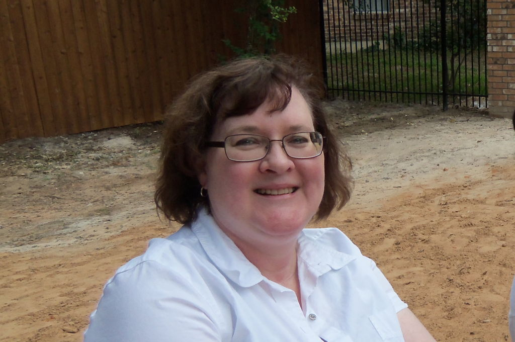 Cindy Cronin at a family gathering in May, 2014.