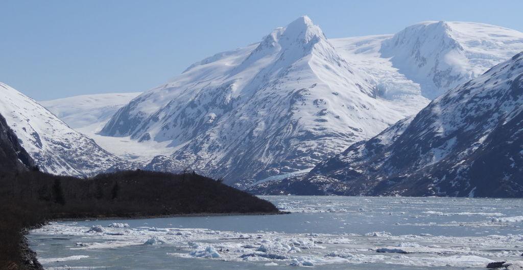 Portage glacier near Whittier, Alaska